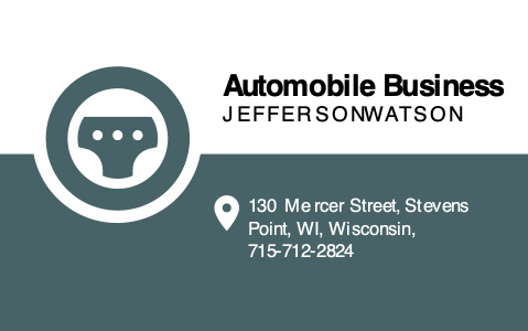 automotive b_c 1a text businesscard