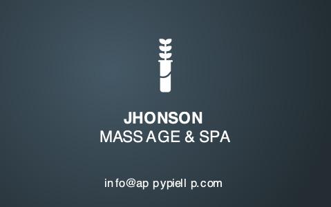 massagetherapist b_c 5a machine businesscard