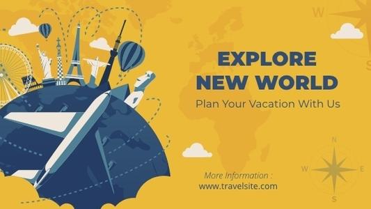 travel blogbanner 5 free travel blog banner template