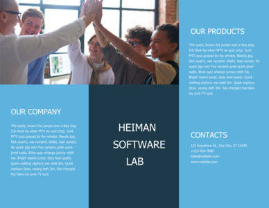 company brochure 10 company  brochure templates online