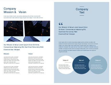 company brochure 4 free company  brochure sample