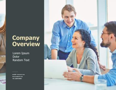 company brochure 9 company promotion  brochure