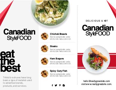 food brochure 3 free online food  brochures