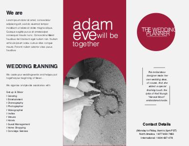 marriage brochure 1 online marriage  brochures
