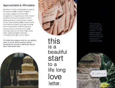 marriage brochure 4 marriage  brochure design ideas