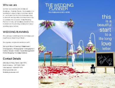 marriage brochure 8 personalised marriage  brochures