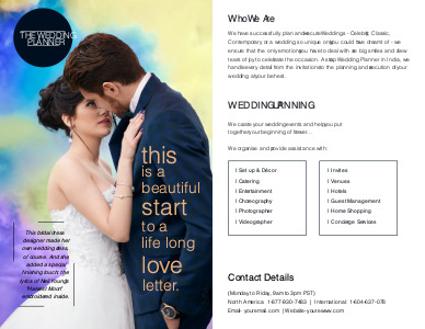 marriage brochure 9 online marriage  brochure examples