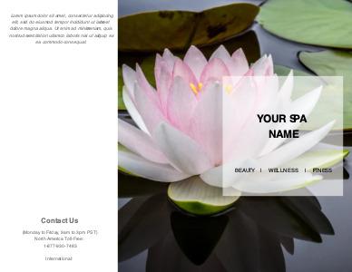 massage brochure 1 massage  brochures templates free