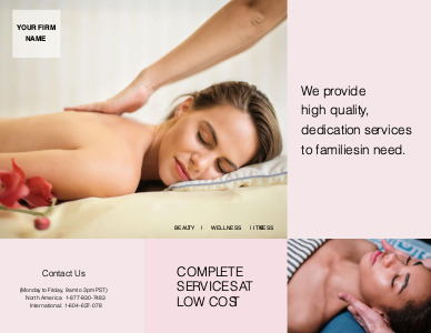 massage brochure 6 online massage  brochure ideas