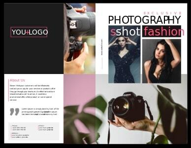 photography brochure 3 online photography  brochure template