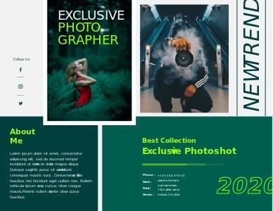 photography brochure 5 free photography  brochure templates
