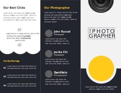 photography brochure 8 photography  brochure design ideas