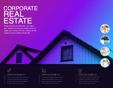 realestate brochure 1 real estate  brochure templates