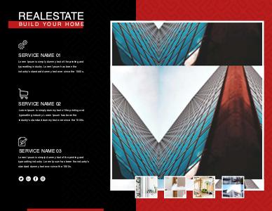 realestate brochure 4 free real estate  brochure design