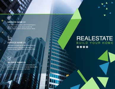 realestate brochure 5 online editable real estate  brochure