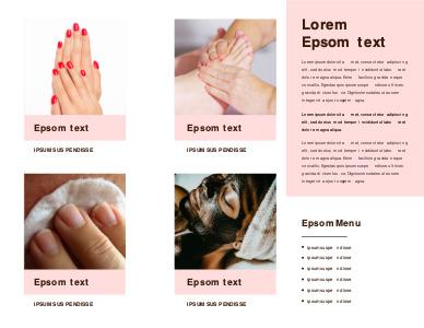 sauna brochure 6 free templates for sauna  brochure