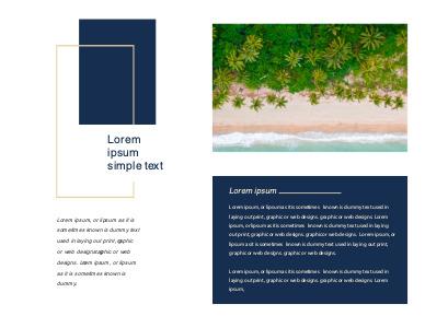 travel brochure 10 free travel  brochure template