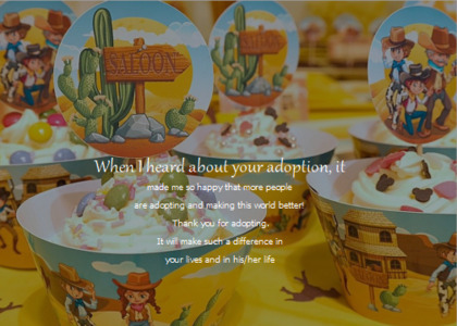 adoption card 18 food cream
