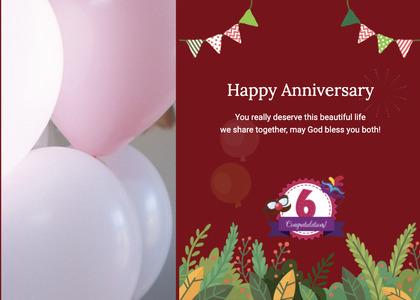 anniversary card 100 poster advertisement