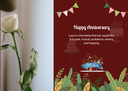 anniversary card 103 plant advertisement
