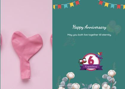 anniversary card 106 poster advertisement