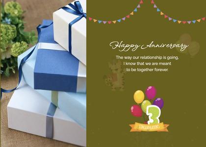 anniversary card 107 paper temptag