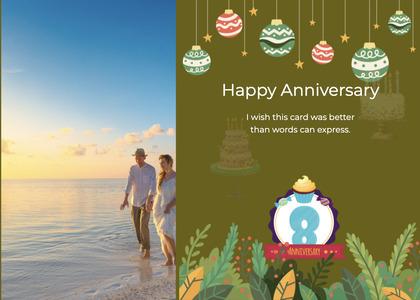 anniversary card 110 person advertisement