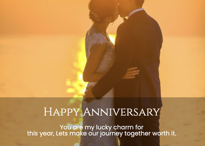 anniversary card 120 person clothing