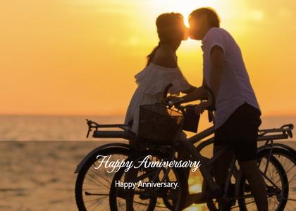 anniversary card 133 bicycle vehicle