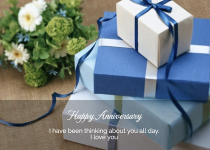 anniversary card 135 gift box