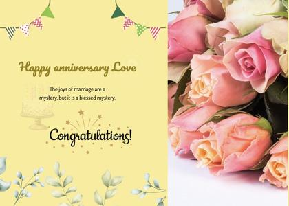anniversary card 20 plant graphics