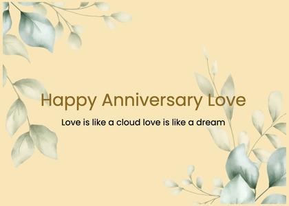 anniversary card 208 floraldesign graphics