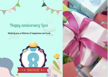 anniversary card 21 poster advertisement