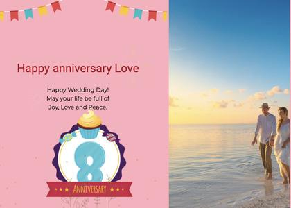 anniversary card 22 person human