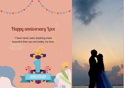 anniversary card 29 person clothing