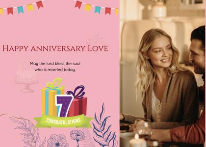anniversary card 33 person human