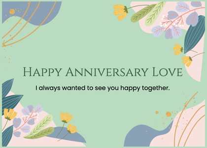 anniversary card 43 graphics art
