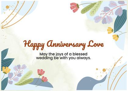 anniversary card 46 graphics art