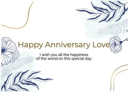 anniversary card 49 graphics art