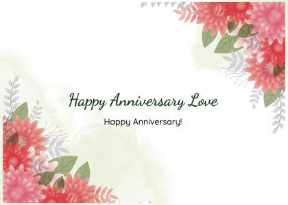 anniversary card 52 graphics art