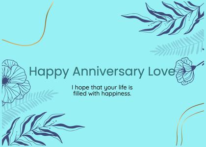 anniversary card 54 graphics art