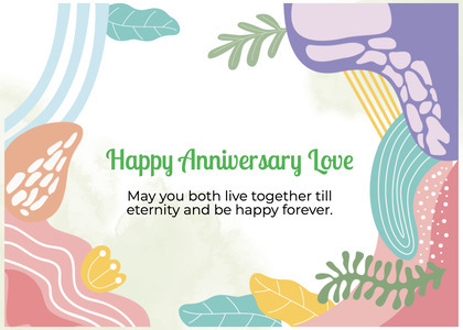 anniversary card 57 advertisement poster