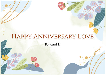anniversary card 58 graphics art