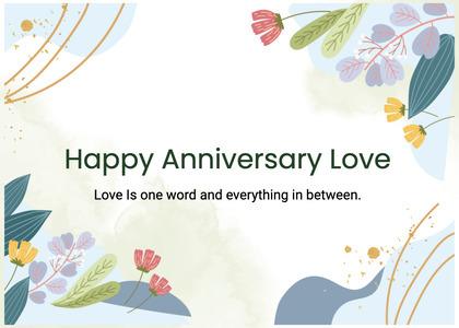 anniversary card 62 graphics art