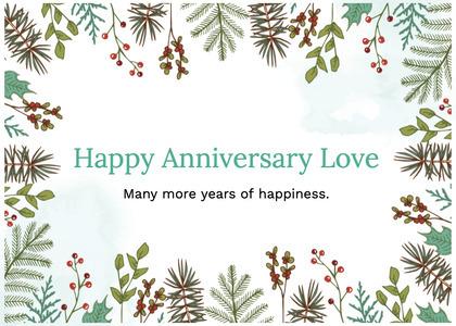anniversary card 63 plant tree