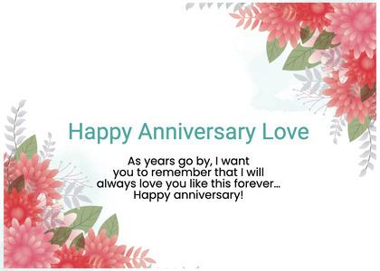 anniversary card 67 graphics art