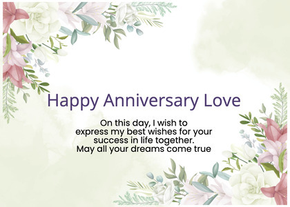 anniversary card 69 graphics art