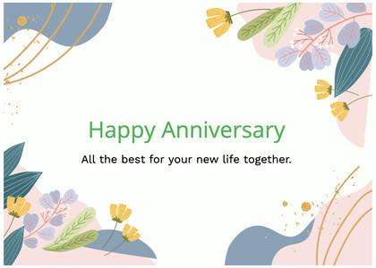 anniversary card 81 graphics art