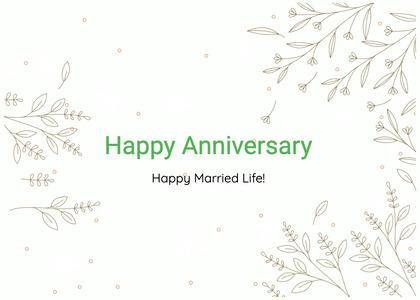 anniversary card 82 text handwriting