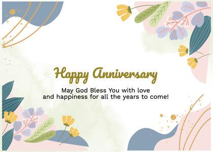 anniversary card 84 graphics art